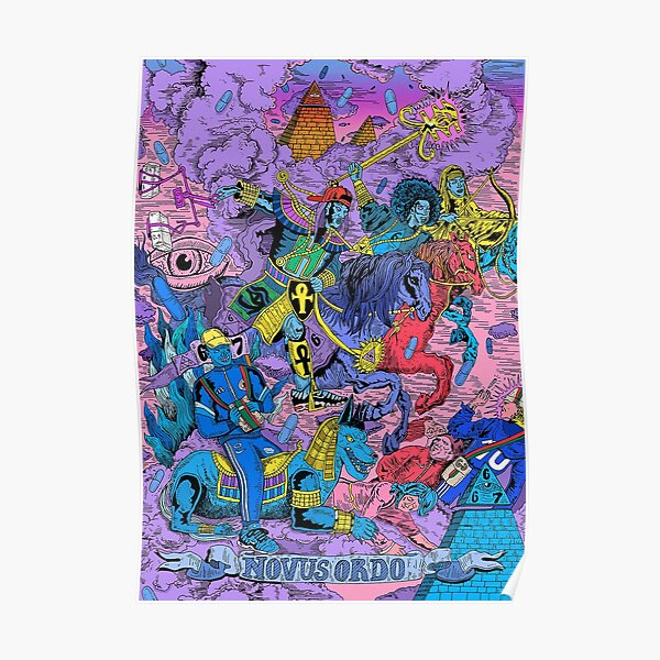 Freeze Corleone - 667 - Blue Beam  Poster