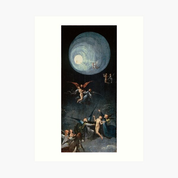 Hieronymus #Bosch #HieronymusBosch #Painting Art Famous Painter Art Print