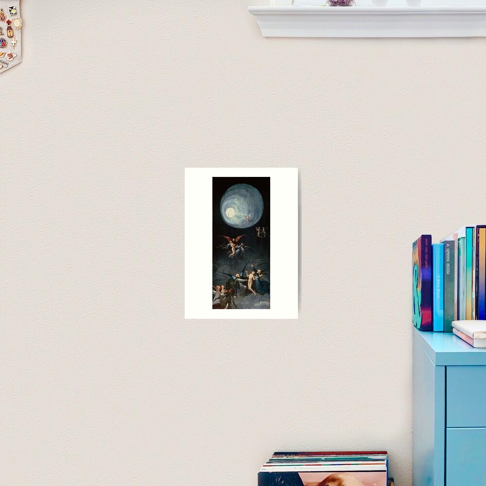 Hieronymus #Bosch #HieronymusBosch #Painting Art Famous Painter   Art Print