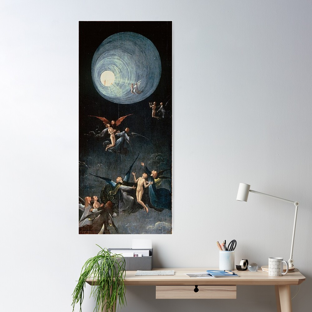 Hieronymus #Bosch #HieronymusBosch #Painting Art Famous Painter: Poster