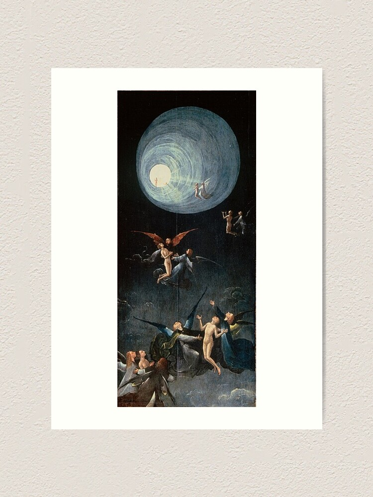 Alternate view of Hieronymus #Bosch #HieronymusBosch #Painting Art Famous Painter   Art Print