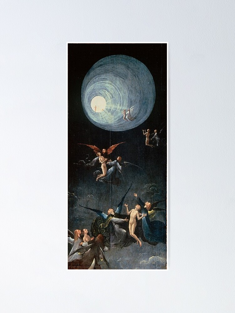 Alternate view of Hieronymus #Bosch #HieronymusBosch #Painting Art Famous Painter   Poster