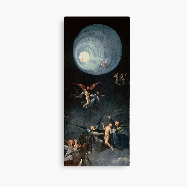 Hieronymus #Bosch #HieronymusBosch #Painting Art Famous Painter   Canvas Print