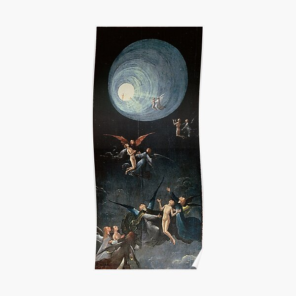 Hieronymus #Bosch #HieronymusBosch #Painting Art Famous Painter   Poster