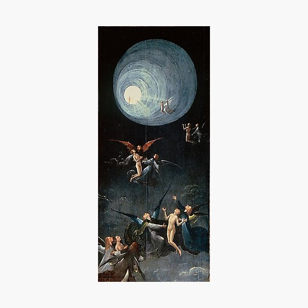Hieronymus #Bosch #HieronymusBosch #Painting Art Famous Painter   Photographic Print