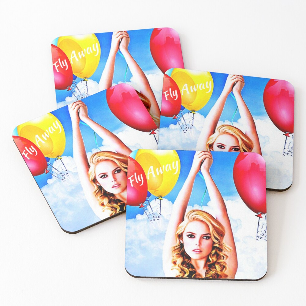 Fly Away  Coasters (Set of 4)