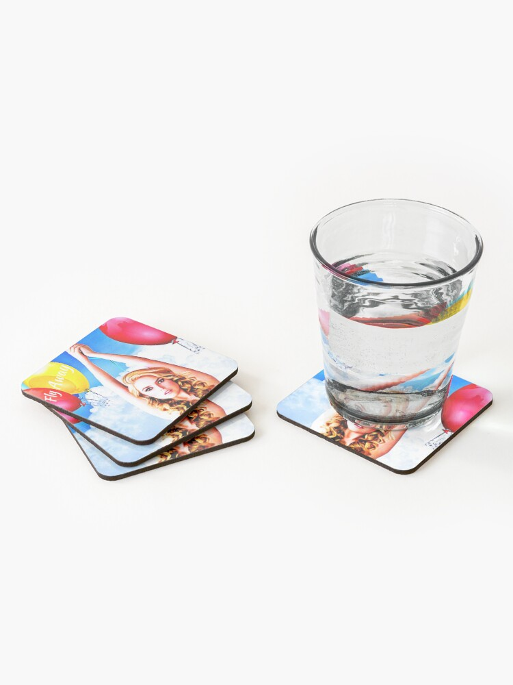 Alternate view of Fly Away  Coasters (Set of 4)