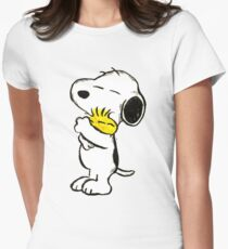 Snoopy and Woodstock Women's Fitted T-Shirt