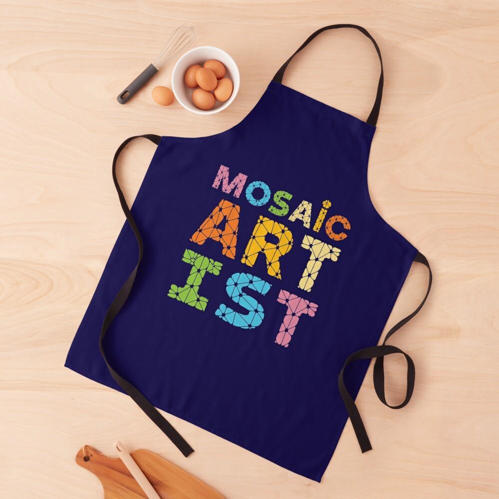 Mosaic Artist Apron
