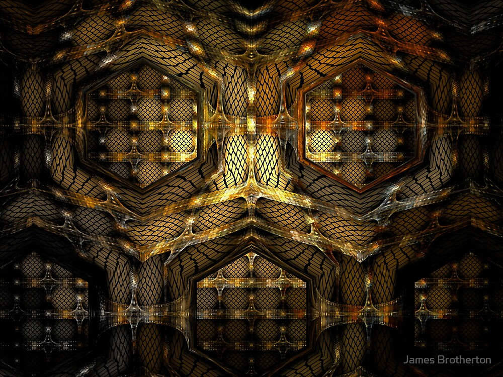Alien Birth Compartments by James Brotherton