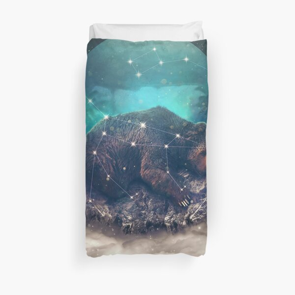 Under the Stars | Ursa Major Duvet Cover