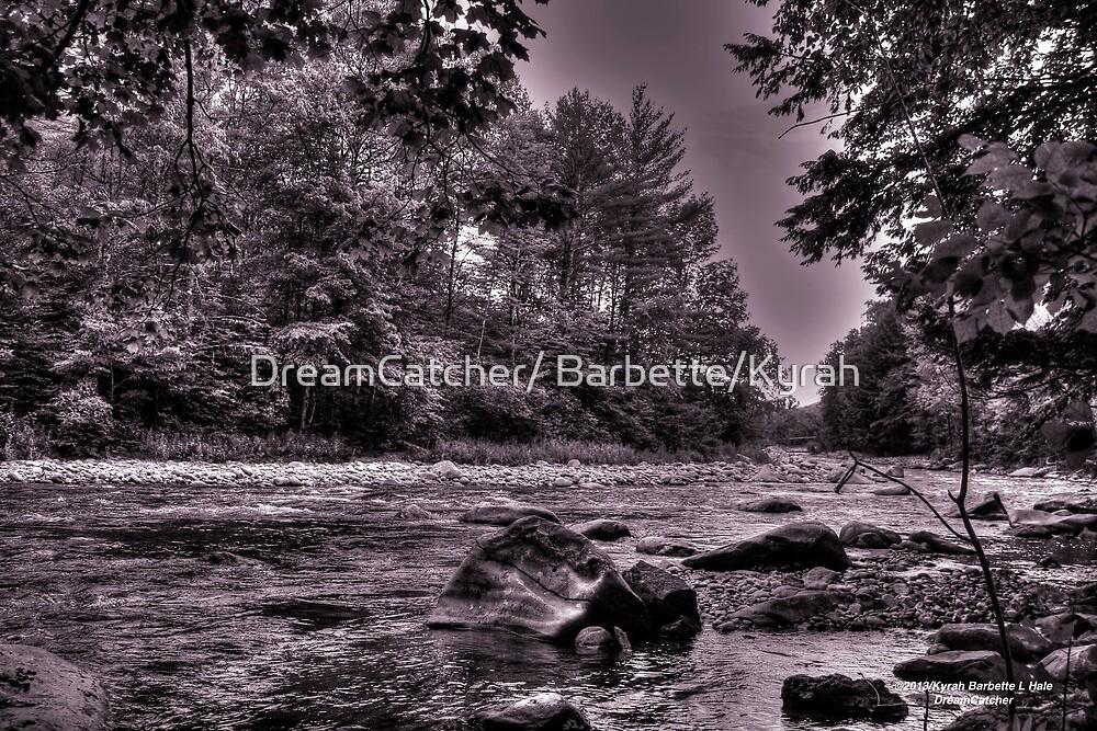 River Gorge  Monochrome by DreamCatcher/ Kyrah