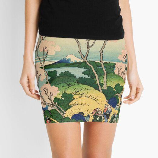 fuji from gotenyama - Katsushika Hokusai Mini Skirt