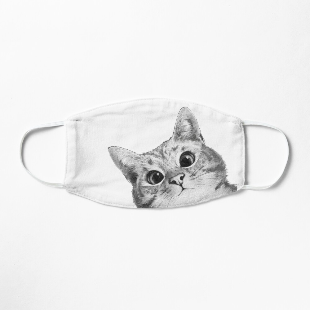 sneaky cat Mask