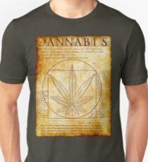 Vitruvian Cannabis Unisex T-Shirt