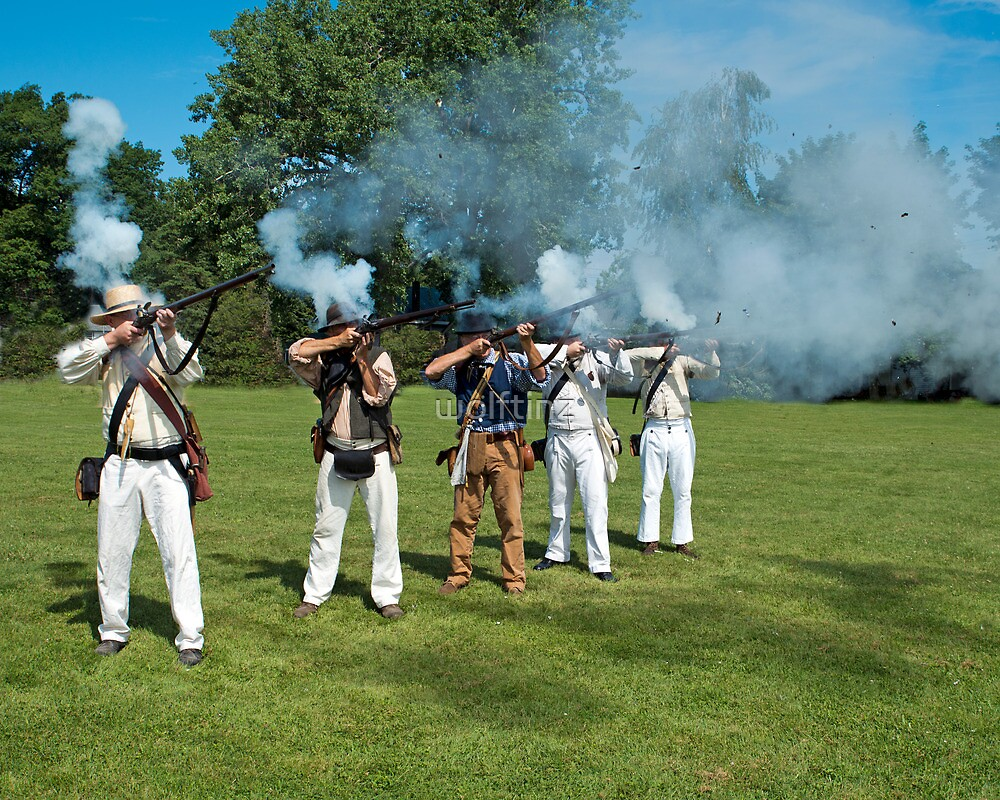 The Battle of Troupsville (Sodus Point, NY) by wolftinz