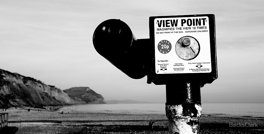 View Point, Charmouth, Dorset by BecksClark
