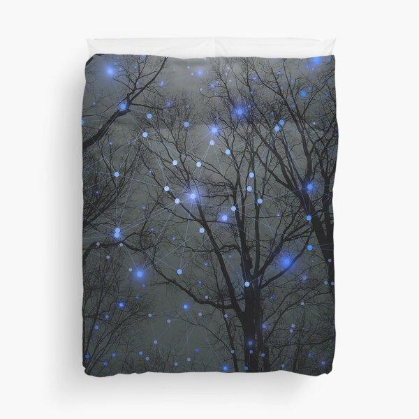 The Sight of the Stars Makes Me Dream Duvet Cover