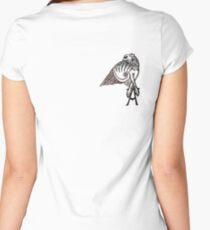 Angel's Tattoo Women's Fitted Scoop T-Shirt