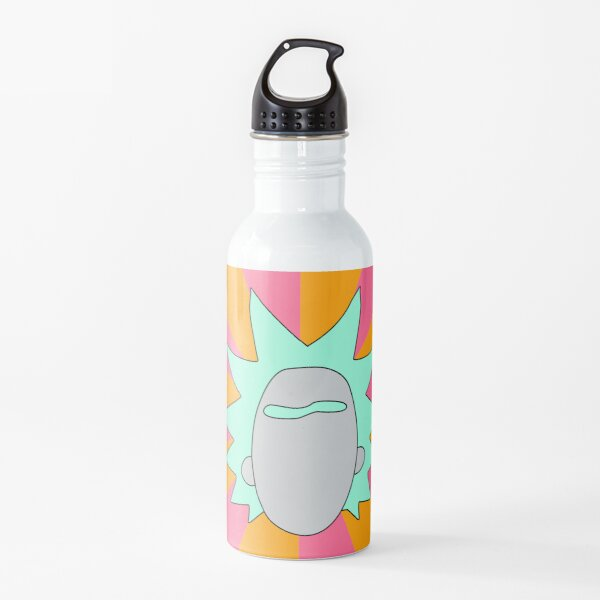 Rick minimal art Water Bottle