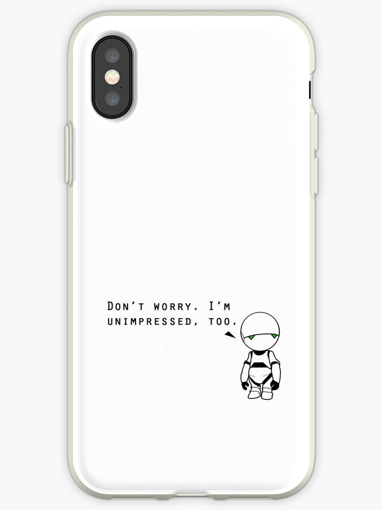 Marvin is Unimpressed With Your Phone Case by Khepera