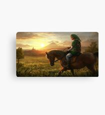 THE LEGEND OF ZELDA HD HYRULE  Canvas Print