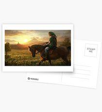 THE LEGEND OF ZELDA HD HYRULE  Postcards