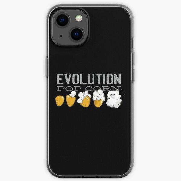 POP CORN EVOLUTION iPhone Soft Case