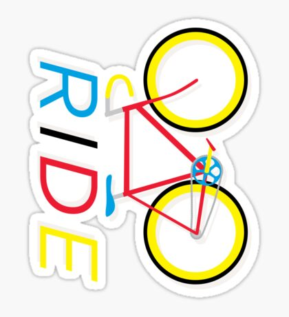 RIDE - BIKE Sticker