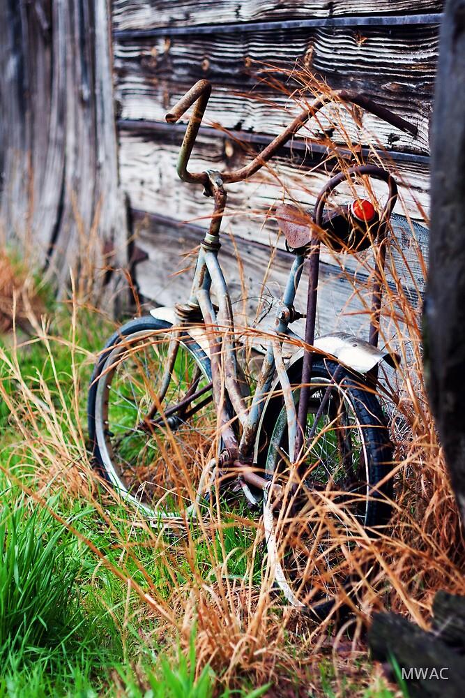 Abandoned Bike by MWAC