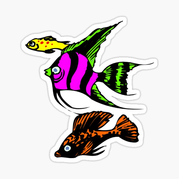 Fish Stickers Sticker