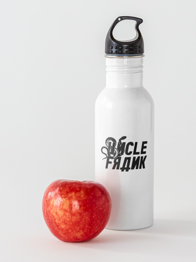 Alternate view of Uncle Frank 2020 Logo  Water Bottle