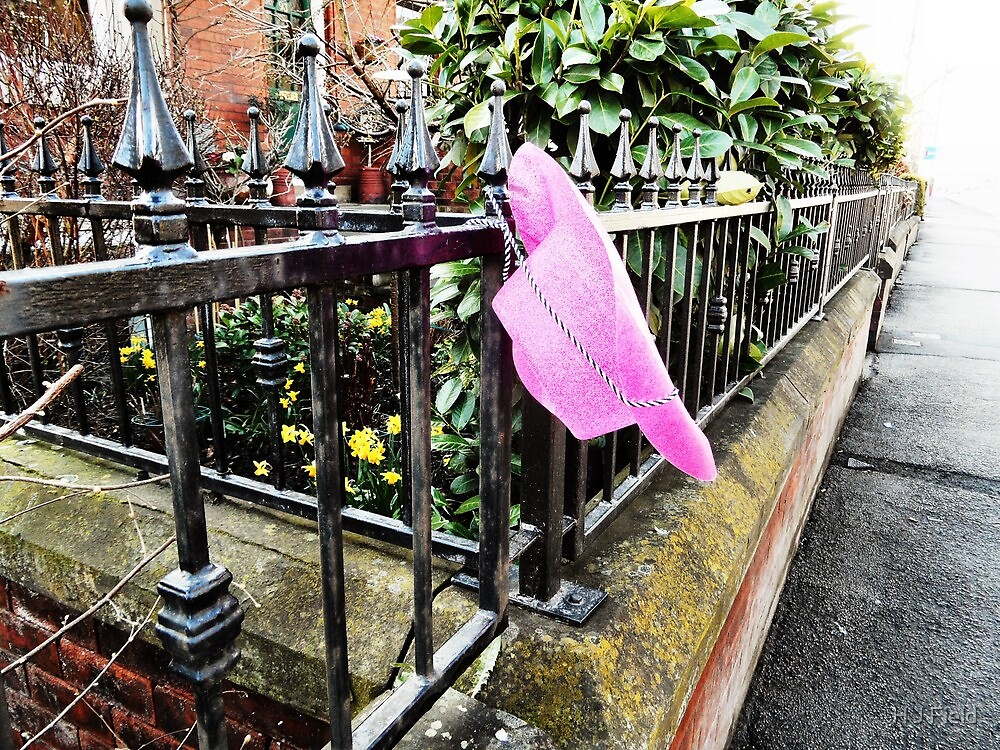 abandoned: pink hat by H J Field