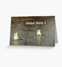 Honker Butts Greeting Card