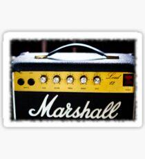 marshall 80's Lead 12 amp... Sticker