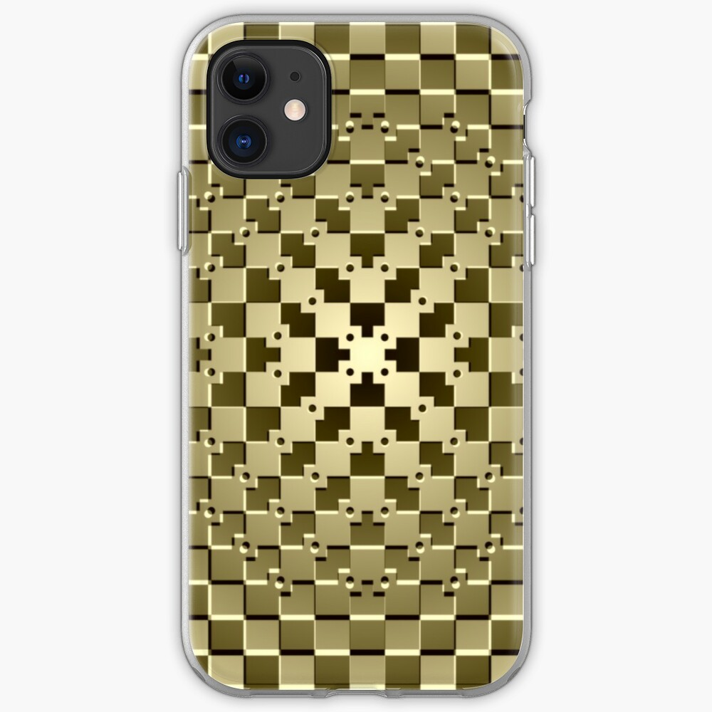 Optical illusion abstract art: iPhone Case & Cover