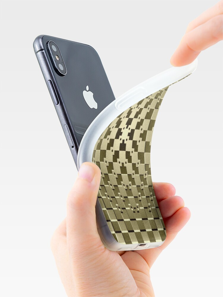 Alternate view of Optical iLLusion Abstract Art iPhone Case