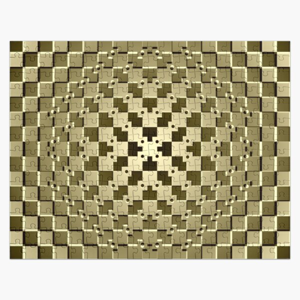 Optical iLLusion Abstract Art Jigsaw Puzzle