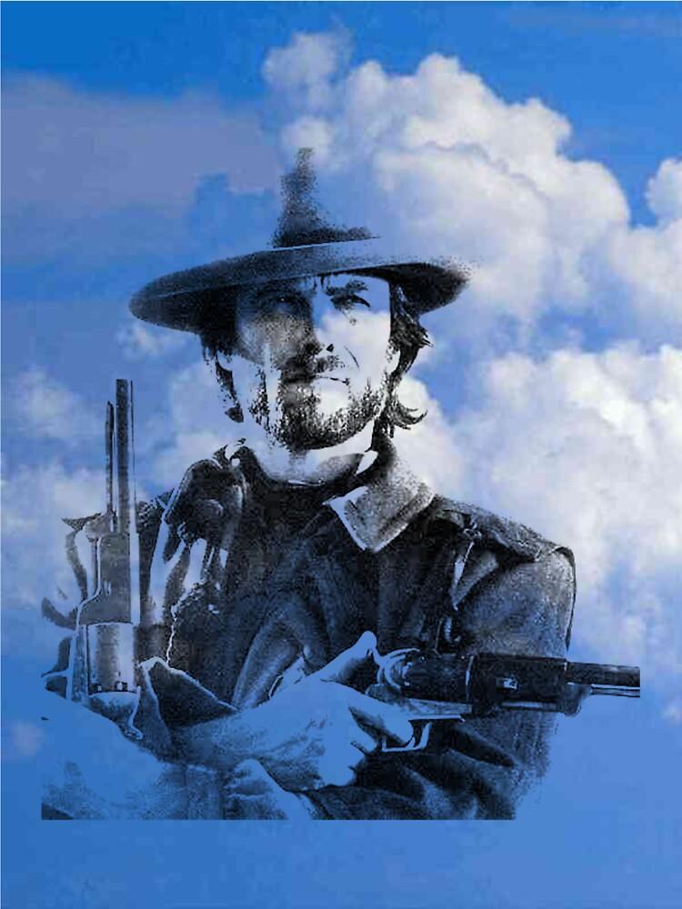 Clint in the clouds by Adamsart
