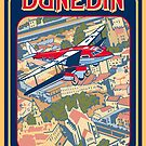 Dunedin with DH 86 Express 1936 by contourcreative