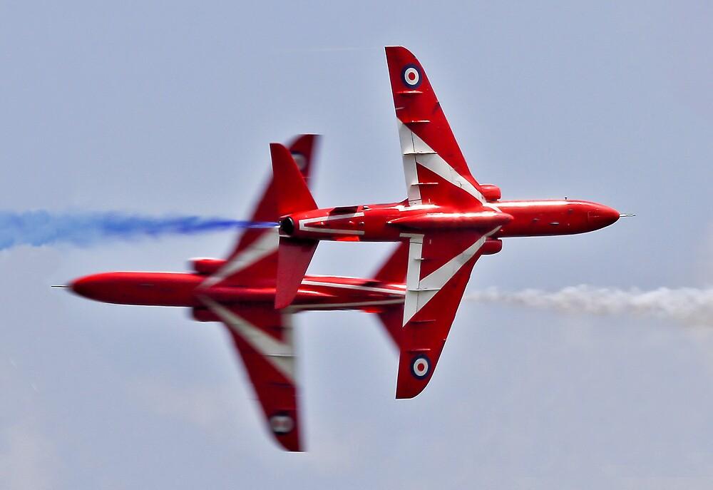Red Arrows Synchro Pair by PhilEAF92