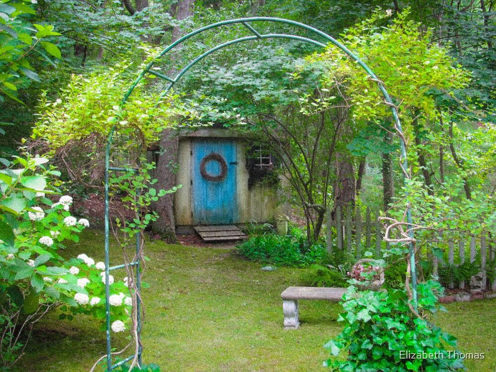 A Fairy Tale Garden on Cape Cod by Elizabeth Thomas