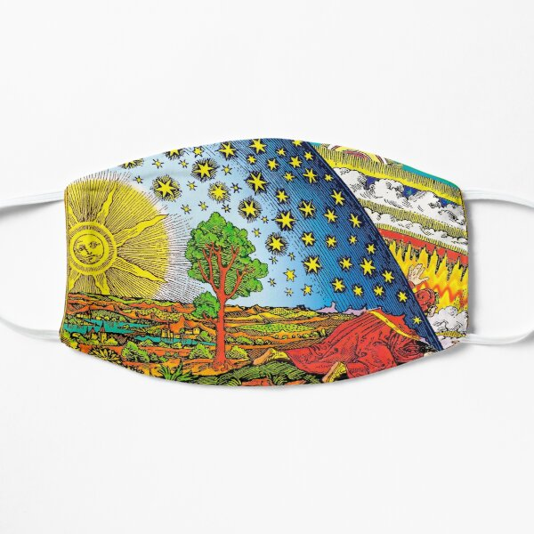 Flammarion engraving in Color Flat Mask