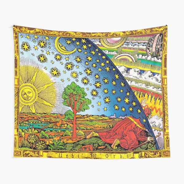 Flammarion engraving in Color Tapestry