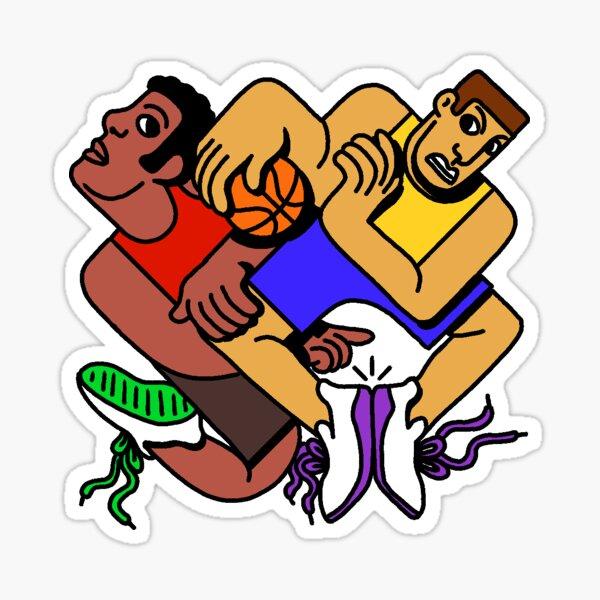 Basketbrawl Sticker