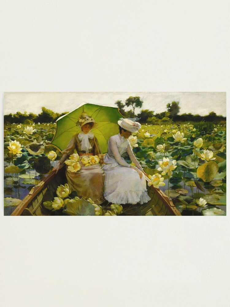 Alternate view of Charles Courtney Curran - Lotus Lilies Photographic Print