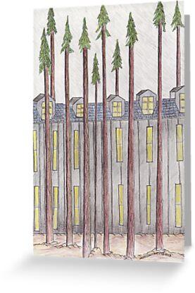 The Dorms by merrilymccarthy