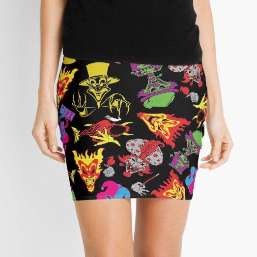 CLOWN COLLAGE Mini Skirt