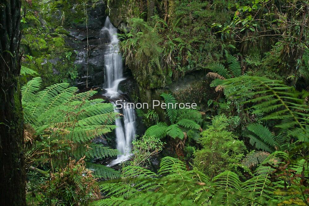 Upper Sabine falls by Simon Penrose