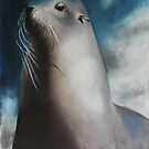 Seal in Pastel by Liz Pearson